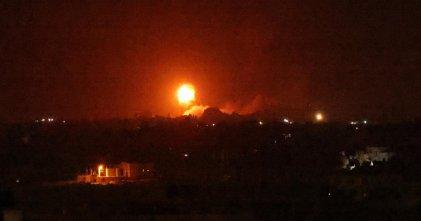 Israel bombardea la Franja de Gaza en plena tensión fronteriza