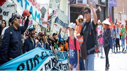 Desde Perú se solidarizan con la lucha de los mineros de Río Turbio en Argentina