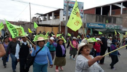 Perú: a pesar de la represión continúa la lucha contra la megaminería