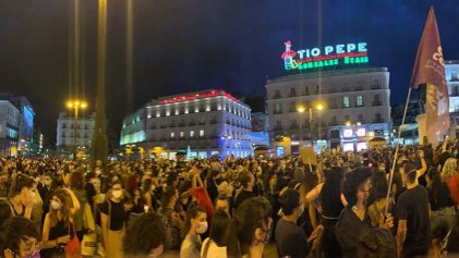 Importantes movilizaciones contra los femicidios en el Estado español