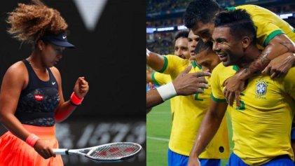 Naomi Osaka y selección de Brasil: dos actitudes ante la industria del espectáculo deportivo