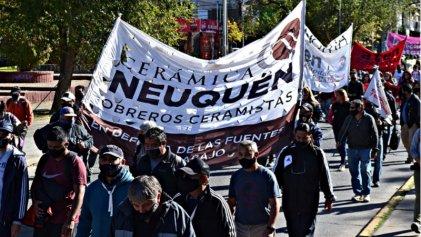 Convocan a movilizar por la amenaza de desalojo y remate de Cerámica Neuquén