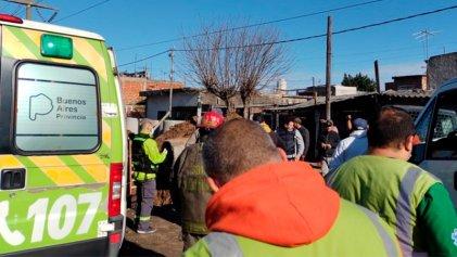 Un trabajador de AySa murió aplastado por un caño en una obra pluvial de Quilmes Oeste